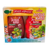 Shampoo + Condicionador Infantil Acqua Kids Cabelos Lisos e Finos -