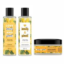 Shampoo Condicionador Máscara Love Beauty Planet Hope Repair - Love Beauty And Planet