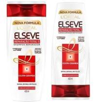 Shampoo + Condicionador Reparação Total 5, 400ml - Elseve -