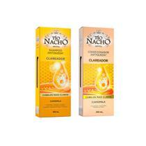 Shampoo + Condicionador Tio Nacho Clare ador 200ml -