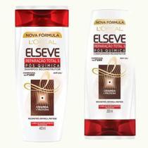Shampoo + Condicionador Total 5 Pós Química 400ml - Elseve -