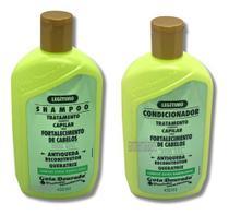 Shampoo e Condicionador Gota Dourada Antiqueda Fortalecimento Queratrix -