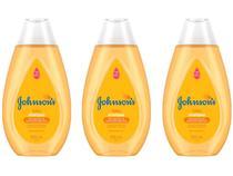 Shampoo Infantil Johnsons Baby Gold - 200ml 3 Unidades