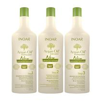 Shampoo Inoar Argan Oil Keratin System Step 1 1000ml