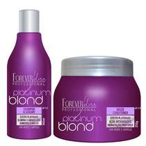 Shampoo Matizador Platinum Blond Forever Liss 300ml -