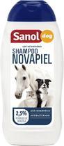 Shampoo Novapiel Sanol Cães, Gatos e Cavalos 500ML -