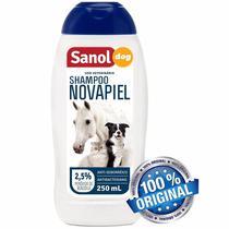 Shampoo Novapiel Sanol Dog 500 Ml Cães Gatos E Cavalos -