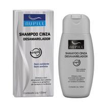 Shampoo Nupill Cinza Desamarelador 120ml -