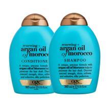 Shampoo OGX Argan Oil of Morocco 385ml e Condicionador OGX Argan Oil of Morocco 385ml -