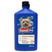 Shampoo Sanol Antipulgas 500ml - Neon Pet Shop