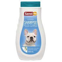 Shampoo Sanol Pelos Claros Cães 500ML -
