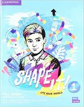 Shape it! level 1 full combo student´s book and workbook with practice extra - Cambridge -