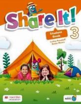 Share it! student book with sharebook and navio app-3 - Macmillan -