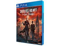 Sherlock Holmes: The Devils Daughter para PS4 - Calisto