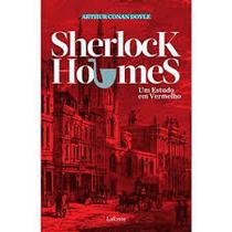 sherlock holmes um estudo em vermelho - Lafonte -