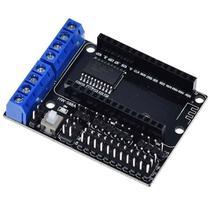 Shield Driver Motor L293D p/ Nodemcu com Chip CP2102 - Casa Da Robótica