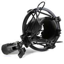 Shockmount,aranha,anti Shock P/ Microfone Condensador,studio,plástico,preto - Geral