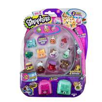 Shopkins Blister Kit Com 12 Série 5 Tecnologia - Dtc