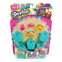 Shopkins Blister Kit com 5 - Série 3 - DTC -