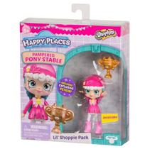 Shopkins Boneca Jessicake Happy Places Estábulo da Pônei Mel Shoppies - Dtc