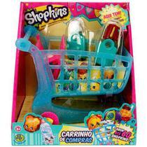 Shopkins - Carrinho De Compras + 2 Shopkins Exclusivos -