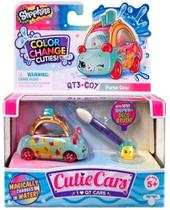Shopkins - Cutie Cars - Muda De Cor - Bolsa Vrumm - Dtc - Brinquedos