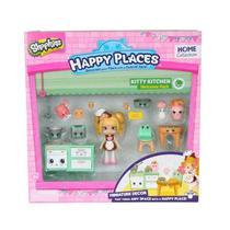 Shopkins Happy Places Cozinha Gatinhos Boas Vindas  4481 - DTC -