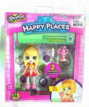 Shopkins Happy Places Cozinha Gatinhos Tina Tiara 4479 - Dtc -
