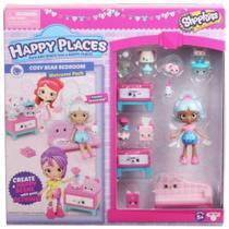 Shopkins - Happy Places - Kit Boas Vindas - Quarto Ursinhos - DTC -