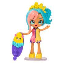 Shopkins - Happy Places - Kit Mini Shoppies - Carolinda - Festa na Piscina - DTC -