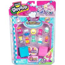 Shopkins Kit Com 12 Shopkins Série 6 Chef Club - DTC -