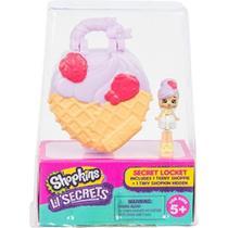 Shopkins LIL Secrets Pingente - Sorveteria Nevinha Dtc 5088 -