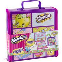 Shopkins - Máquina de Shopkins  + Shopkins - Estojo e Cenário - Combo