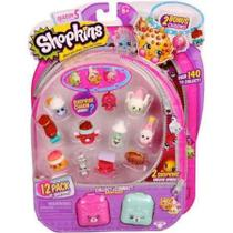 Shopkins Serie 5 - Cartela Kit Com 12 Shopkins - DTC - 3582 -