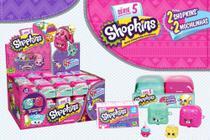 Shopkins Série 5 Display Mochila Com 30 Unidades Dtc 3580 -