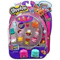 Shopkins Série 5 Kit Com 12 Shopkins Dtc -