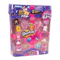 Shopkins Suas Comprinhas Irresistíveis Kit Com 12 Série 7  - DTC -