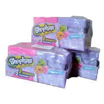 Shopkins Super Fest com 2 Shopkins Serie 7 DTC - 3 caixinhas -