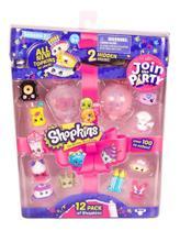 Shopkins Super Festa - 12 Shopkins - Série 7  - DTC -
