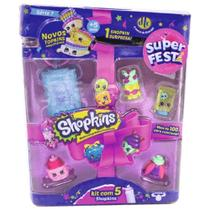 Shopkins Super Festa Com 5 Shopkins Serie 7 Dtc -