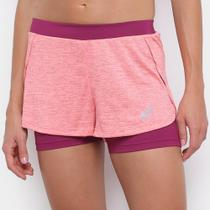 Short Asics Running Blend 2In1 Feminino -