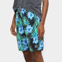 Short Cyclone Longo Stretch Floresta Feminino