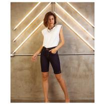 Short Feminino Adulto Jeans Ciclista Romanee Ref:850000 - Romanee Jeans