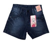 Short Feminino Infantil Estampado - Oliver Jeans