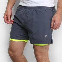 Short Fila Running Plus Ii Masculino -