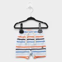 Short Infantil GAP Bebê Listrado Masculino -