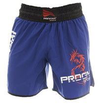 Short Muay Thai Masculino Azul Progne Sports