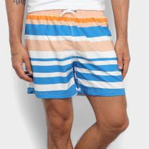 Short New Era Colors Listrado Masculino -