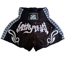 Short Para Muay Thai Kickboxing Fight Brasil Tribal