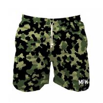 Short Tactel Masculino Camuflado Com Bolsos - Maromba fight wear